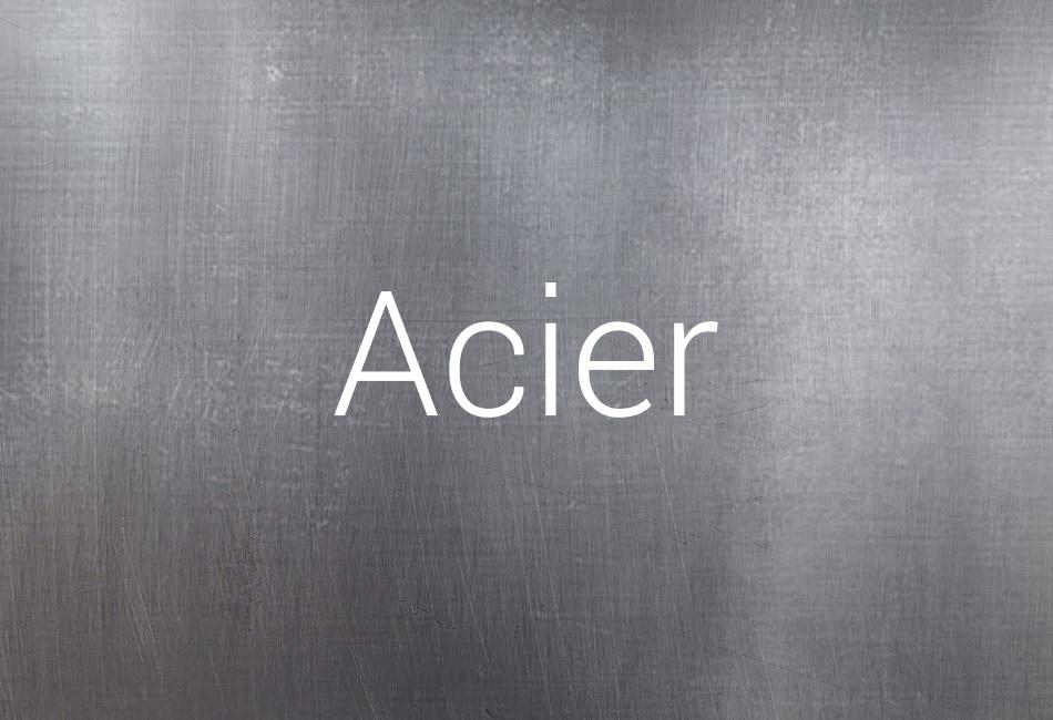 Support acier